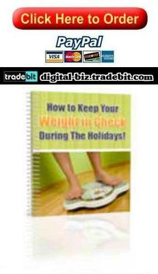 Product picture Control Your Weight During The Holidays