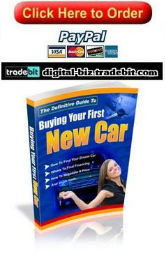 Product picture Definitive Guide To Buying Your First New Car