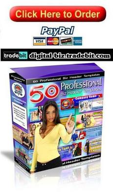 Product picture 50 Professional Biz Header Templates