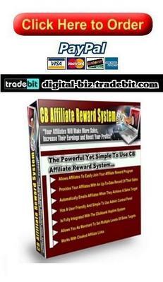 Product picture CB Affiliate Reward System