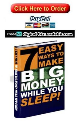 Product picture 7 Easy Ways To Make Big Money
