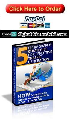 Product picture Ultra Simple Strategies For Effective Traffic Generation