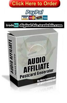 Product picture Affiliate Postcard Generator
