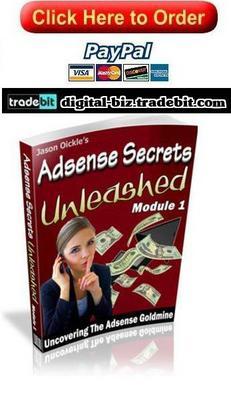 Product picture Adsense Secrets Unleashed