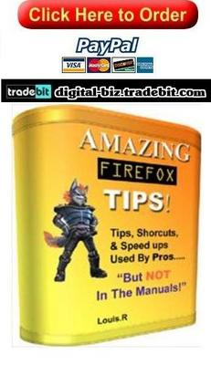 Product picture Amazing Firefox Tips