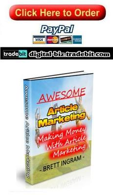 Product picture Awesome Article Marketing