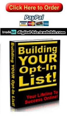 Product picture Building Your Own Opt In List