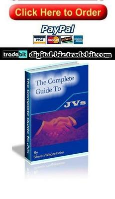 Product picture The Complete Guide To JVs