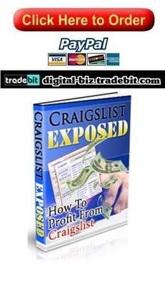 Product picture How To Profit From Craigslist