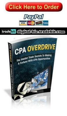 Product picture Making A Fortune With CPA Opportunities