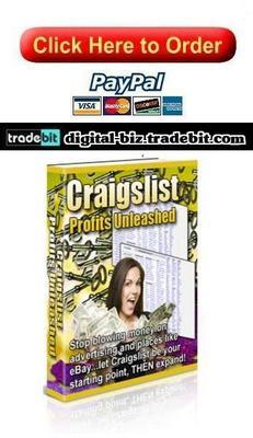 Product picture Craigslist Profits Unleashed