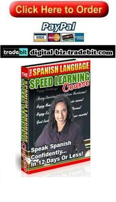 Product picture The Spanish Language Speed Learning